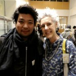Jin Kumamoto and Astrid Klein - two of the speakers in Design Diplomacy
