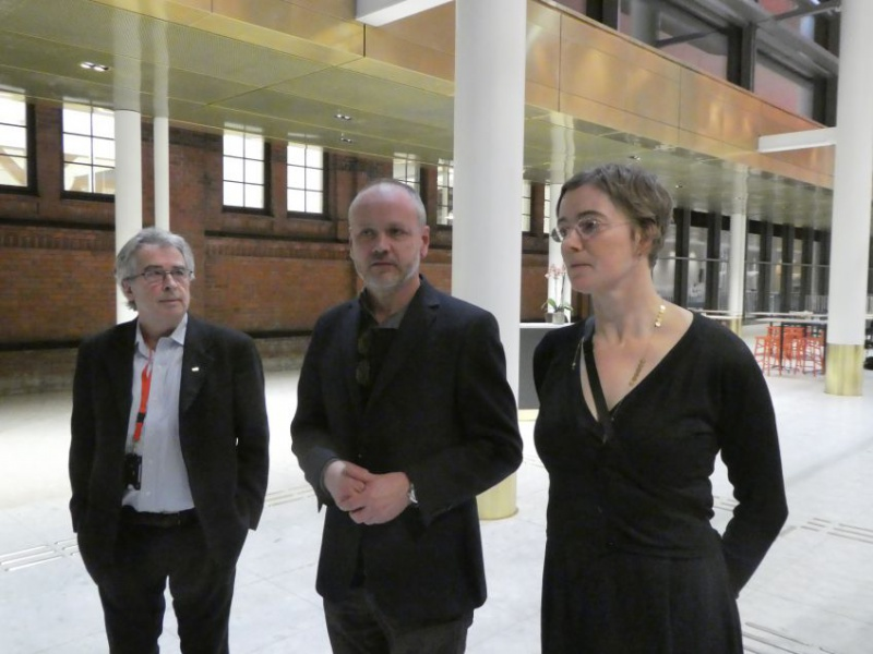 Received by the vice dean  Staffan Scheja, and the architects Tobias Rosberg and Margareta Källström