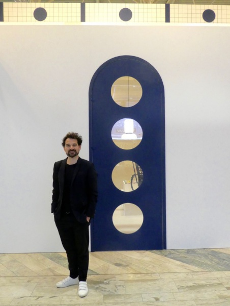 Jaime Hayon, guest of honor at the Stockholm Furniture & Light Fair