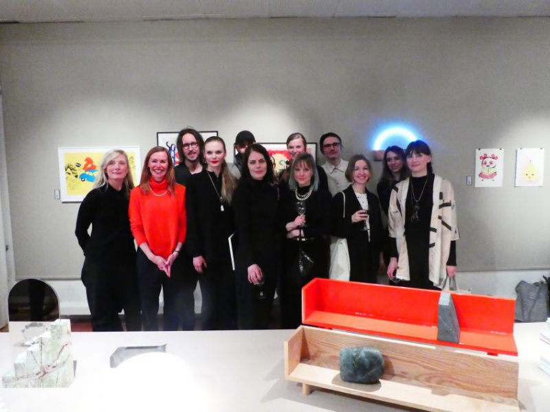 Some of the 80 participants at the Auktionsverket and the exhibition of Ung Svensk Form since the beginning 1998